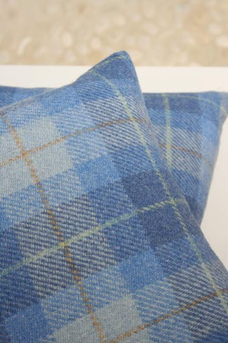 Hebridean Dunes Harris Tweed Cushion (Large)