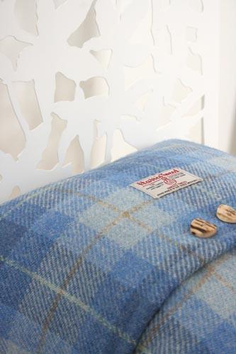 Hebridean Dunes Harris Tweed Cushion (Large)