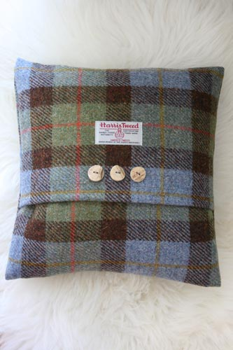 Macleod Harris Tweed Cushion (Large)