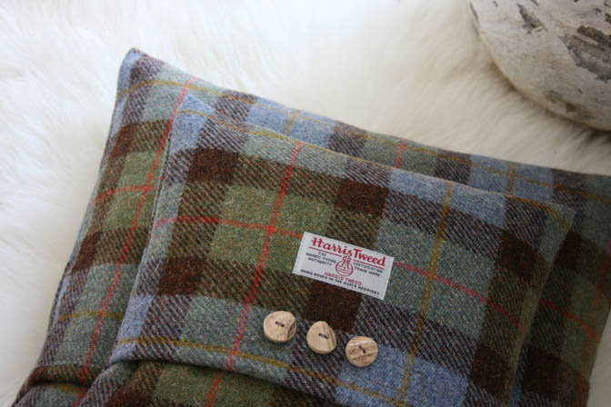 Macleod Harris Tweed Cushion (Small)