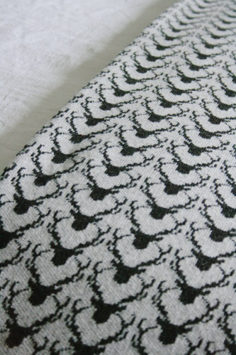Lambswool Stag Blanket