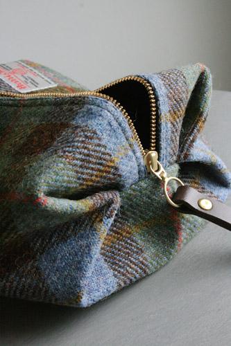 Tweed Toiletry Bag