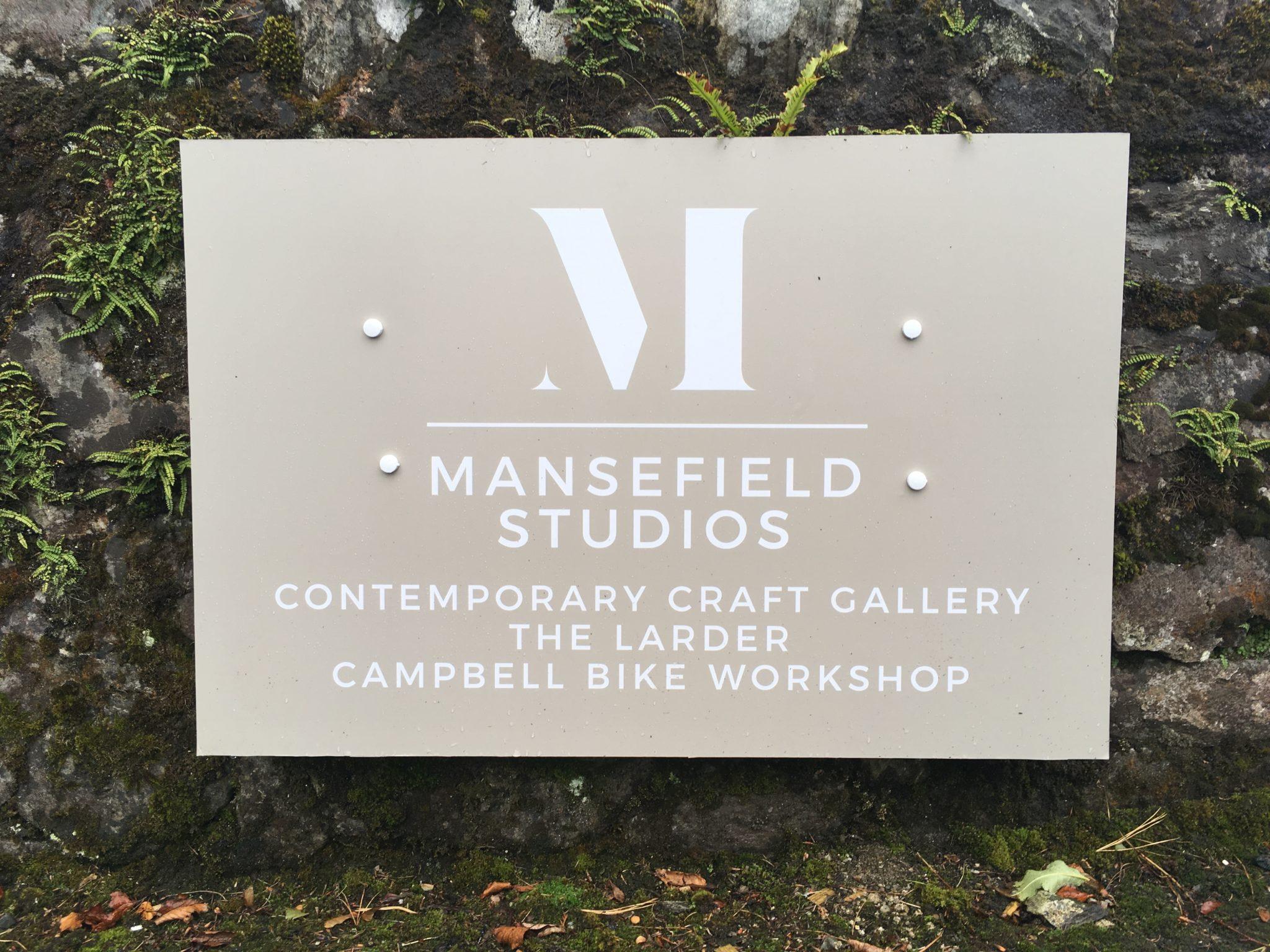 Mansfield Studios signage