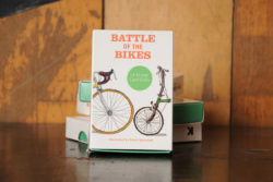 Battle of the Bikes Trump Card game
