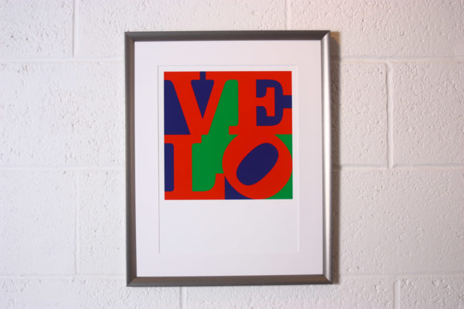 Velo print by CBW