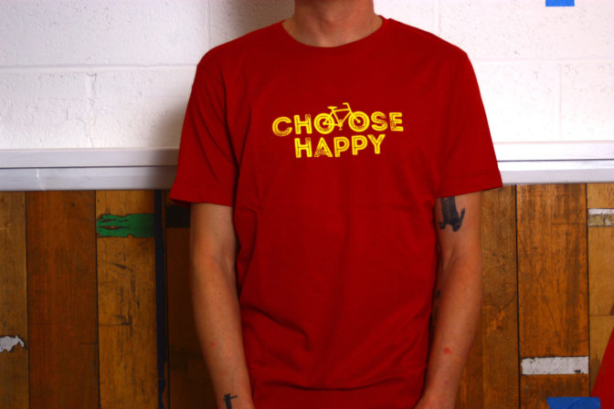 Choose Happy tee by CBW